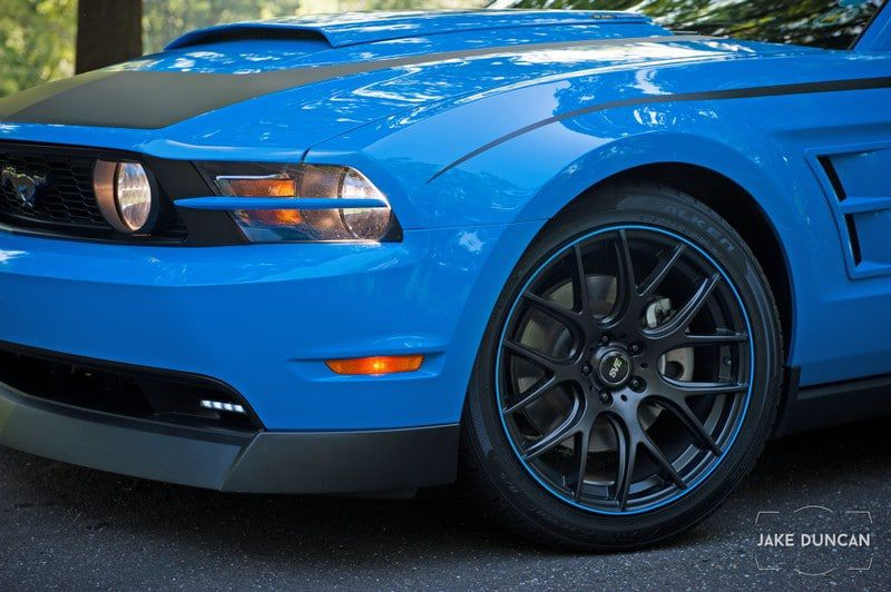 Mustang Grabber Cleargard Paint Protected