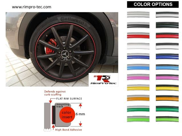 Rim Pro Tec Wheel Protection Strips Cleargard Auto